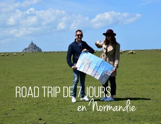 road trip de 7 jours en normandie_blog voyage_un couple en vadrouille