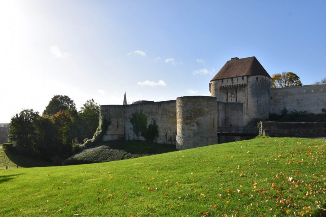 Chateau de Guillaume le Conquérant à Caen
