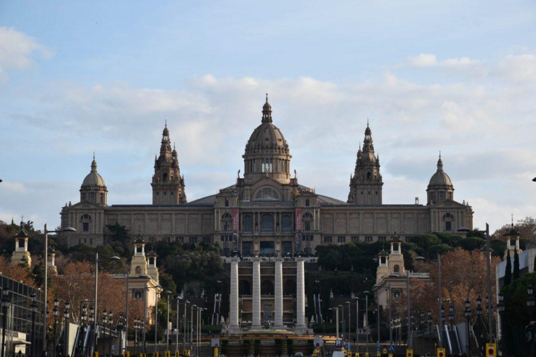 Plaça d'Espanya à barcelone