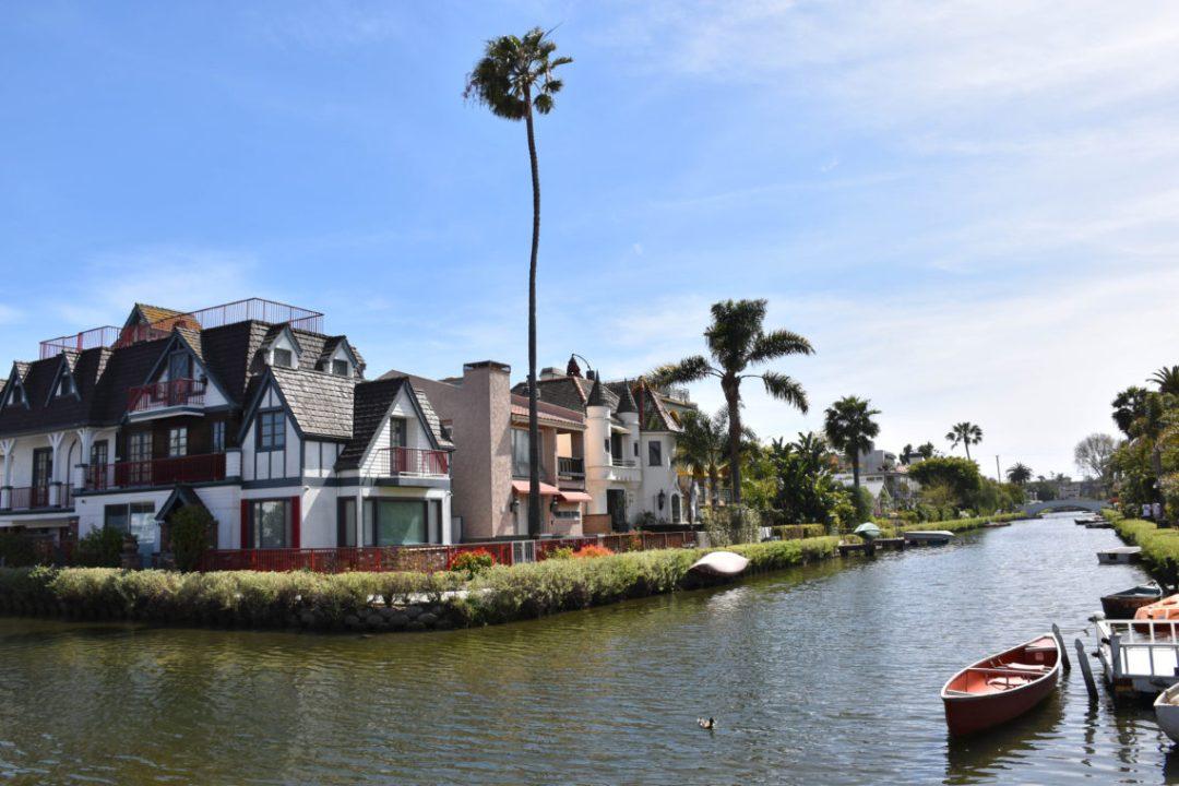 Venice Canals à Los Angeles _ Par un couple en vadrouille