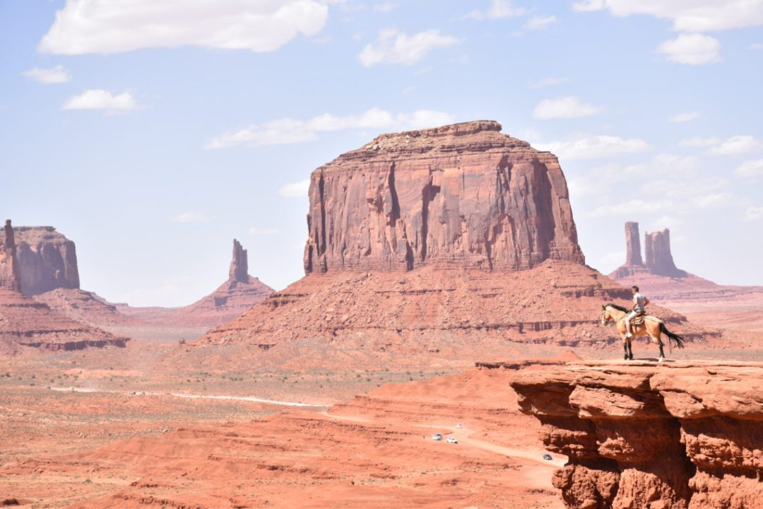 Cowboy Monument Valley