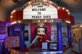 peggye sue restaurant ouest américain betty boop