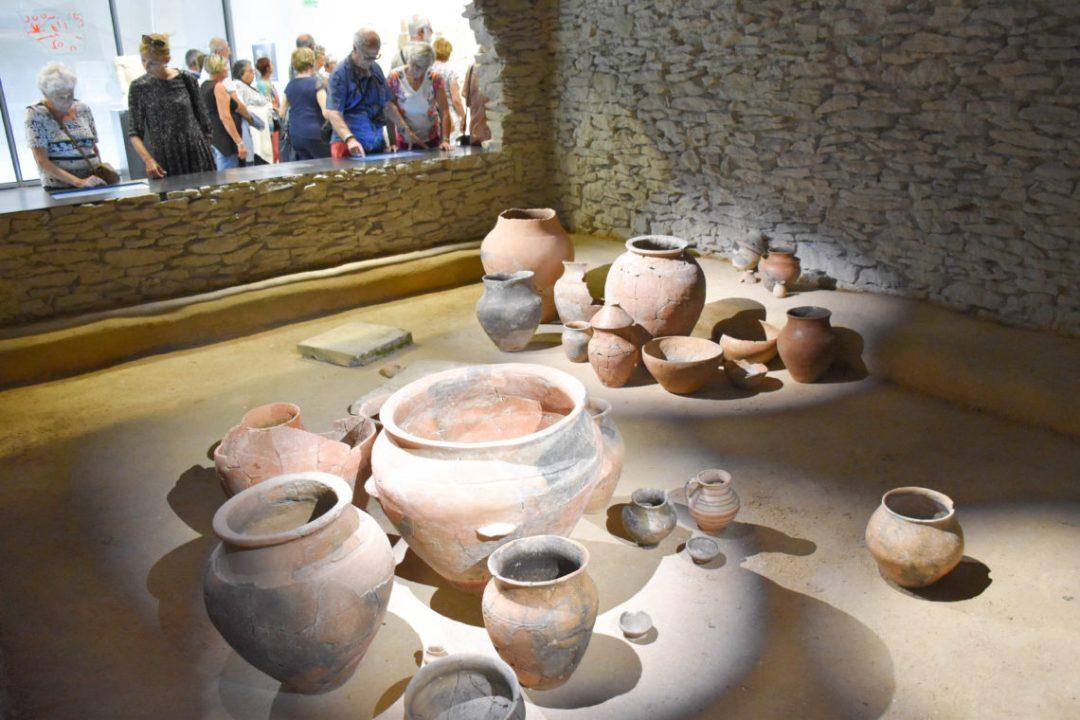 Poterie au musée de la romanité à Nimes_uncoupleenvadrouille-blogvoyage