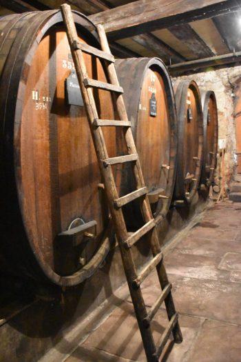 Cave sur la route des Vins d'Alsace