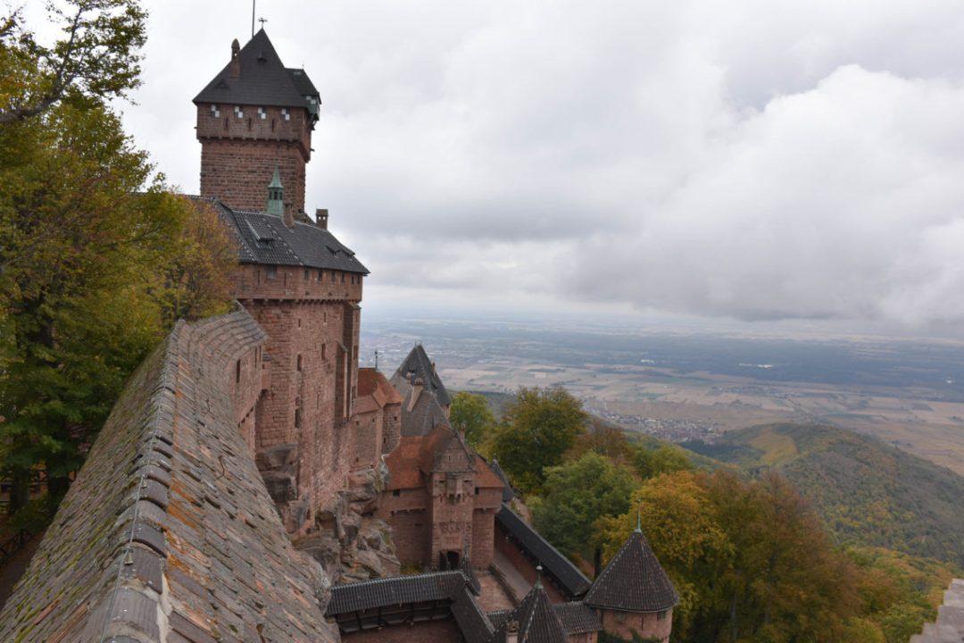 Château du Haut-Koenigsbourg depuis son haut