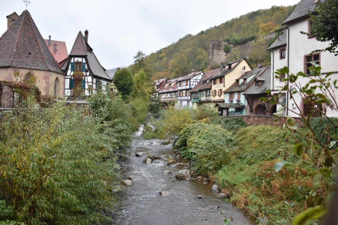 Kaysersberg, village sur la route des vins d'Alsace