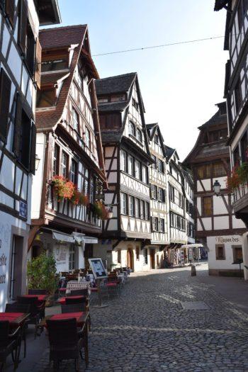 Quartier de la Petite France de Strasbourg en Alsace