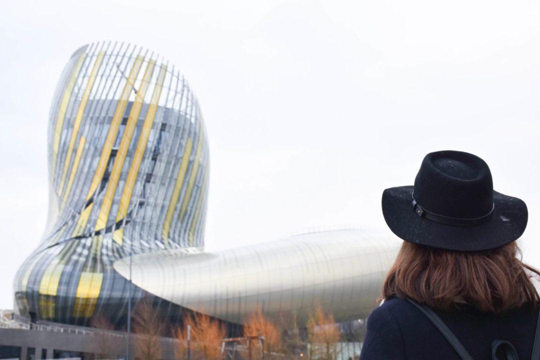 Architecture de la cité du vin de Bordeaux_
