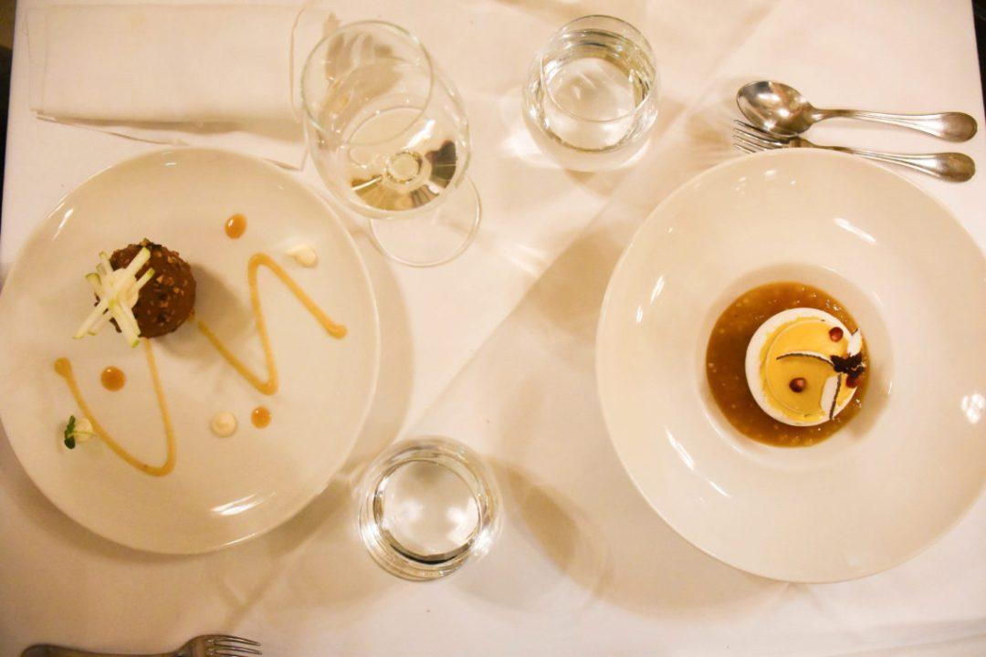 Desserts Le Quatrième Mur - Restaurant Chef Philippe Etchebest_Bordeaux