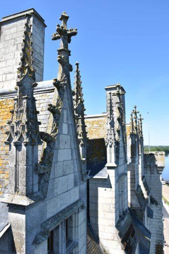 Architecture du chateau de Montsoreau