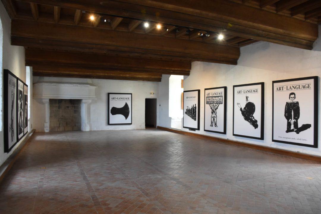 Art contemporain à l'intérieur du Chateau de Montsoreau_Pays de la loire