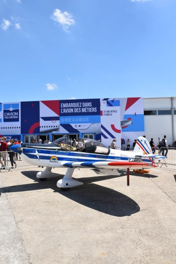 Petit avion au salon du bourget