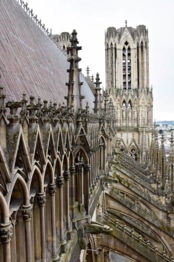 visite des tours de la cathédrale notre dame de reims