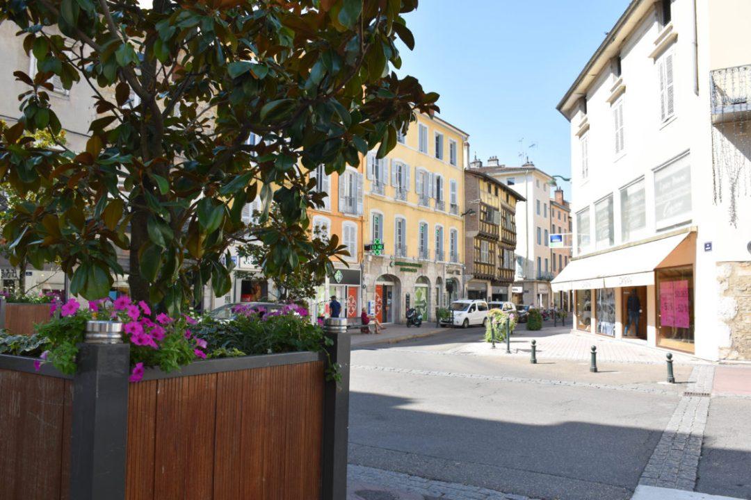 Centre ville de Bourg en Bresse