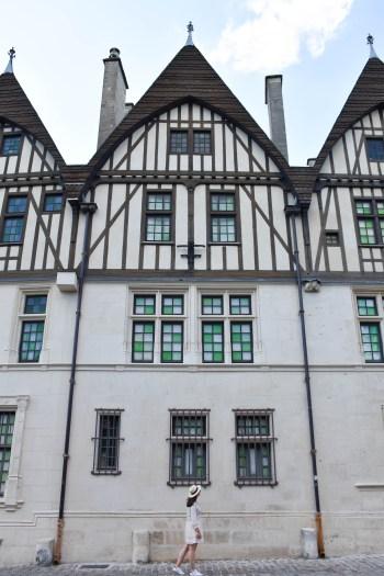 Facade Musée Hôtel Le Vergeur à Reims
