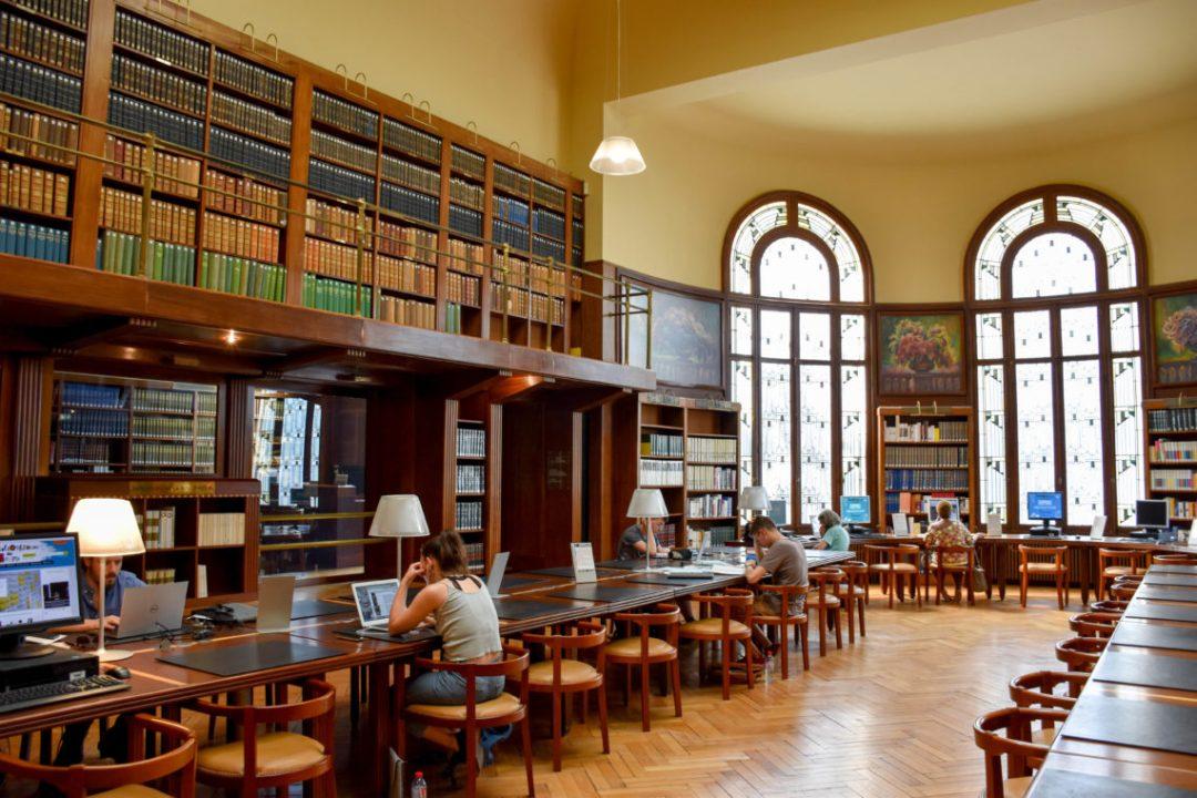Intérieur Bibliothèque Carnegie de Reims