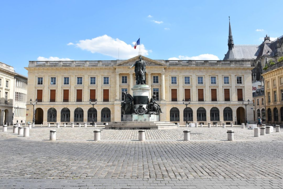 Place Royale à Reims