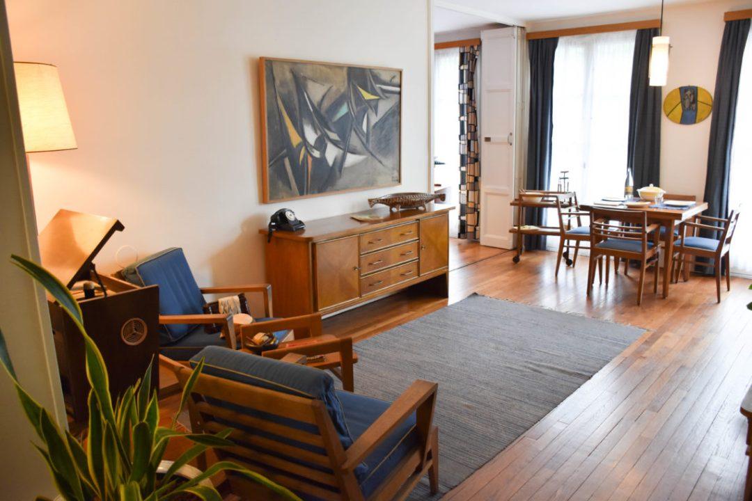 Salon appartement témoin au Havre