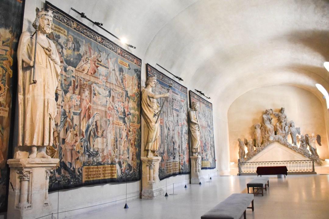 Visite au Palais du Tau de Reims