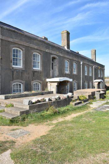 Batiment à Elizabeth Castle à Jersey