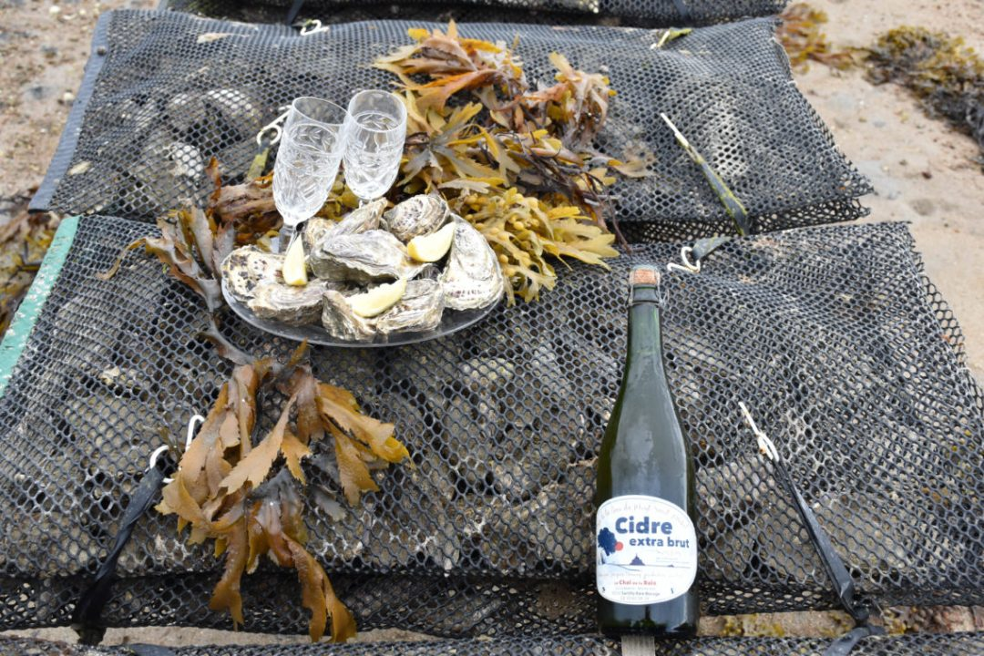 Champagne & Oyster Tour avec Seymour Oyster_ile de Jersey
