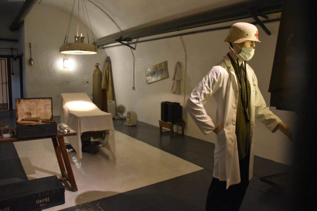 Salle d'opération de Jersey War Tunnels