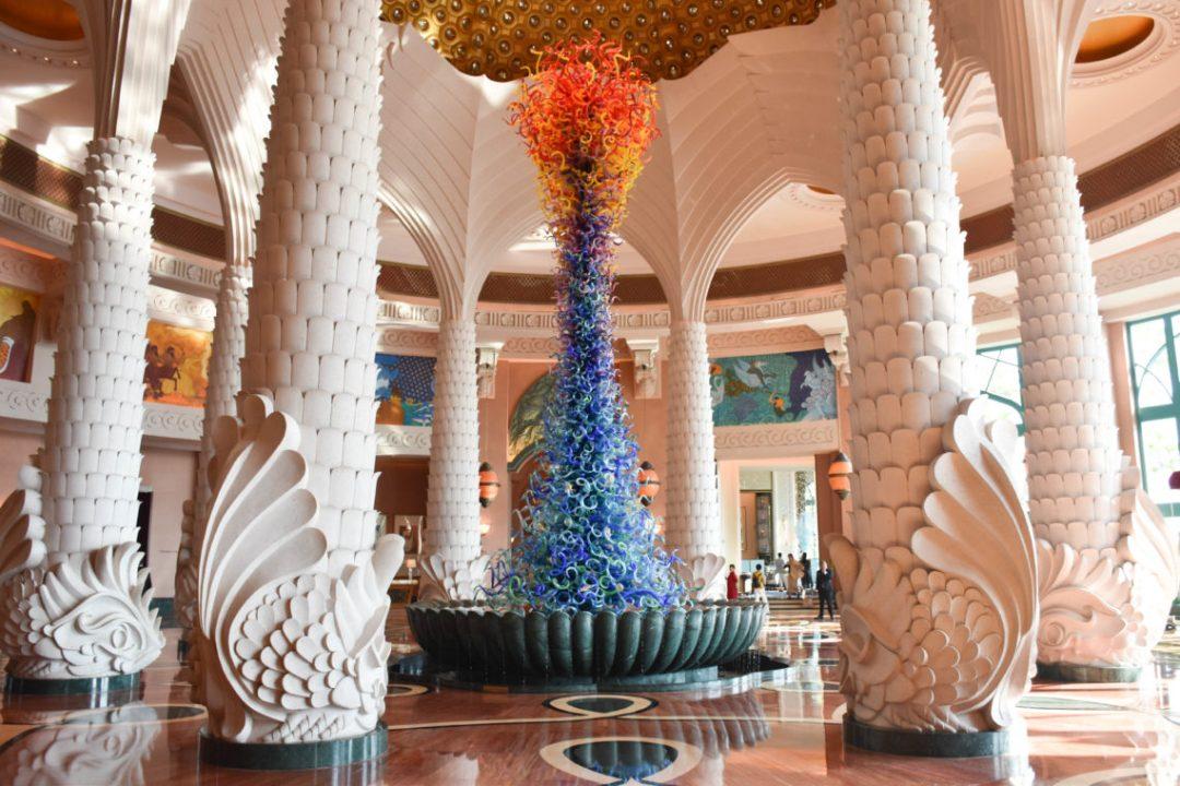 Hall Hotel Atlantis de Dubai