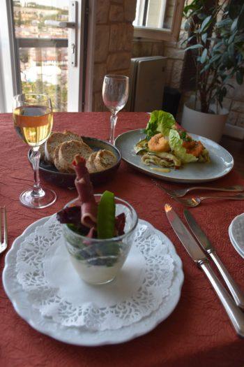 Déjeuner à La Meuse Gourmande avec vue sur Bar le Duc