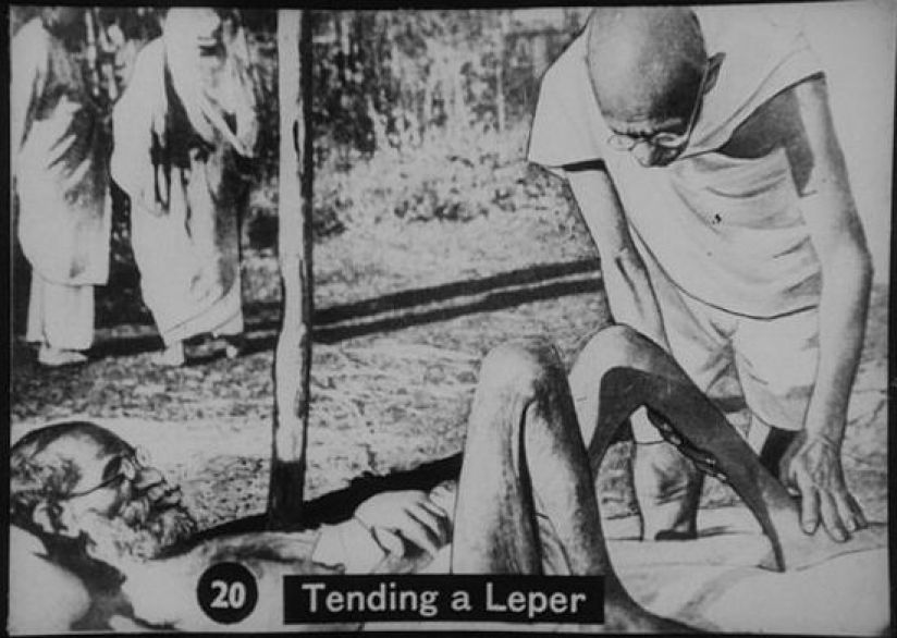 Gandhi vow of brahmacharya