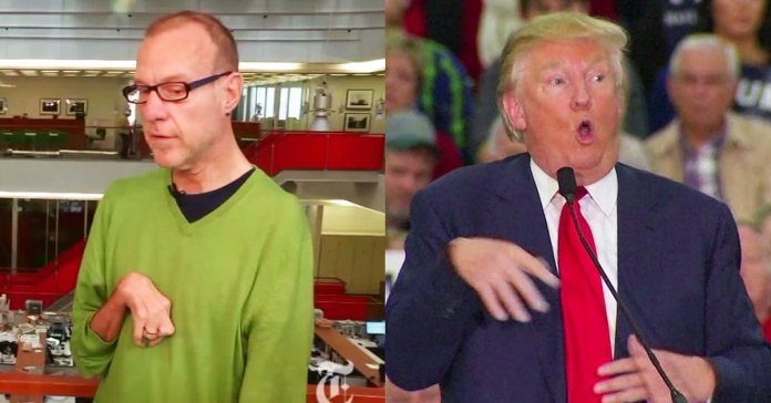 Trump mocks disabilities