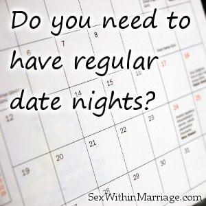Regular date sex
