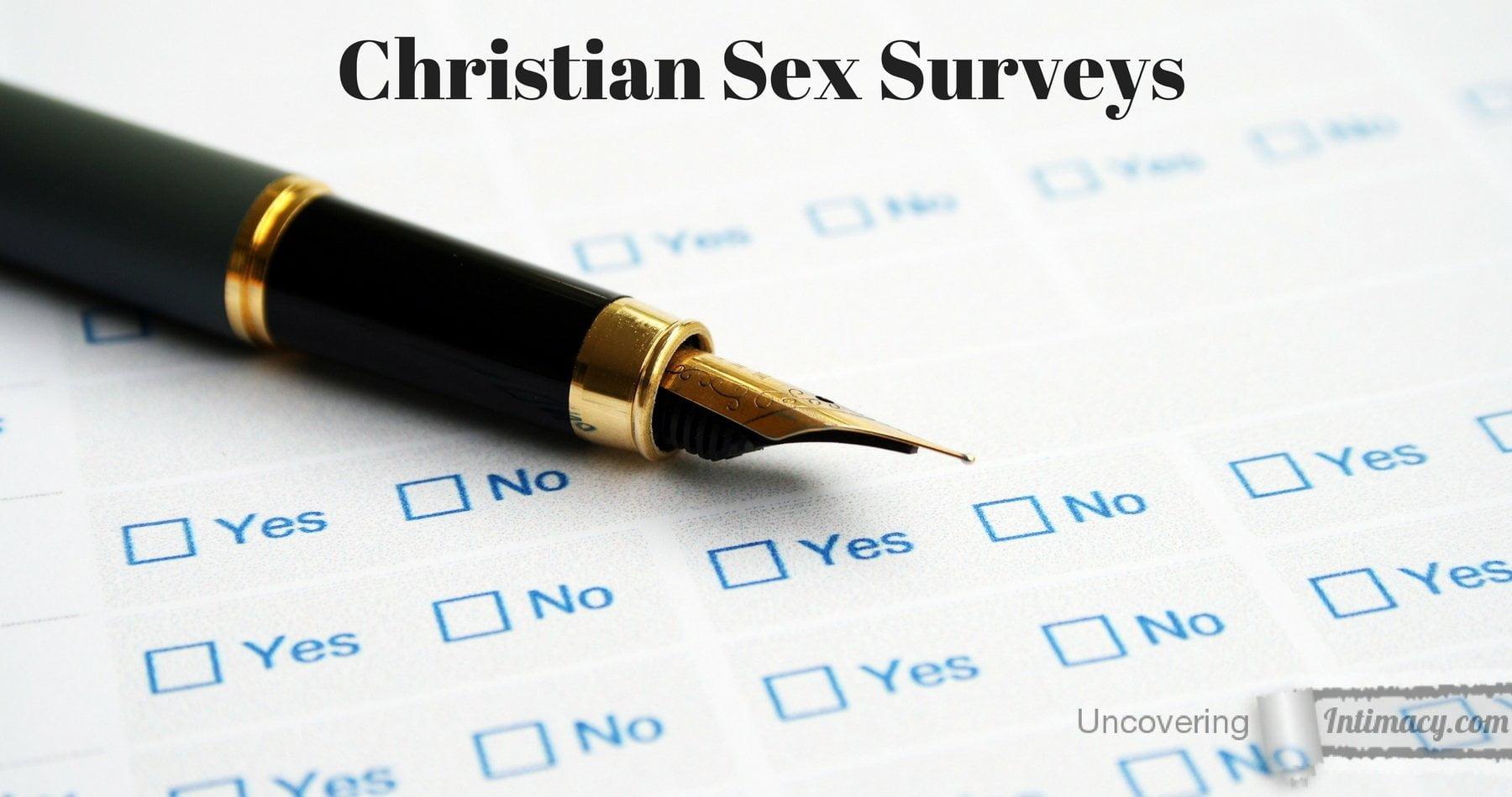 Oral survey christian sex