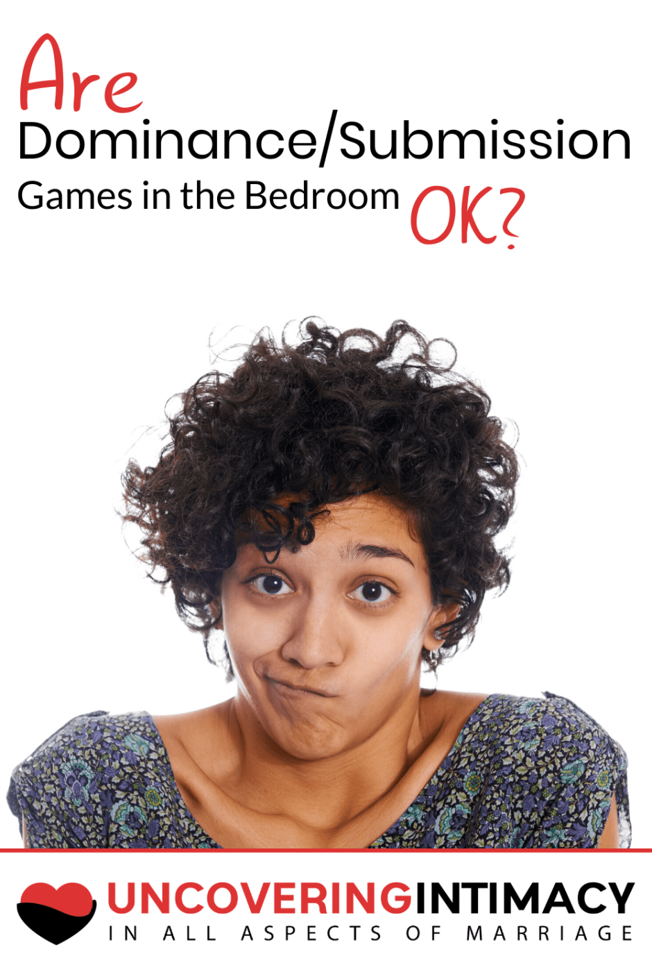 Are dominance / submission games in the bedroom okay?