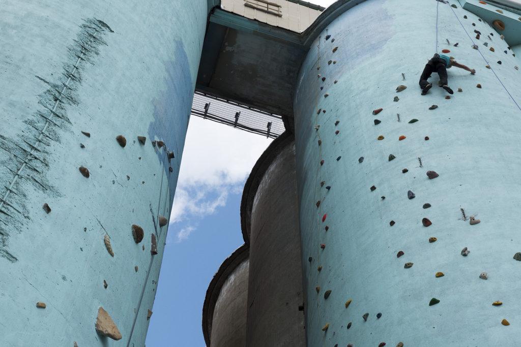OKC Climb Up at the Silos - photo by Dennis Spielman
