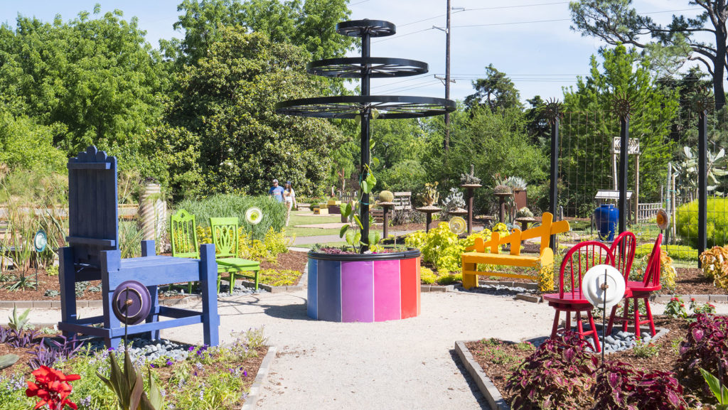 OSU Botanical Garden - photo by Dennis Spielman