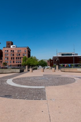 Center of the Universe, looking toward the Brady Arts District - photo by Dennis Spielman