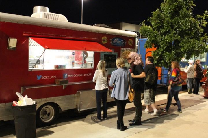 Food Trucks on Film Row. Photo by Dennis Spielman