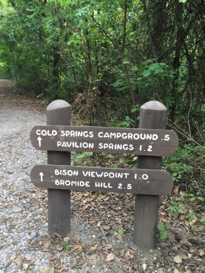 Sign for Pavilion Springs