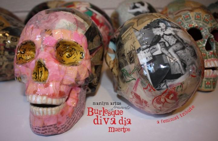 Burlesque diva dia Muertos. Provided photo