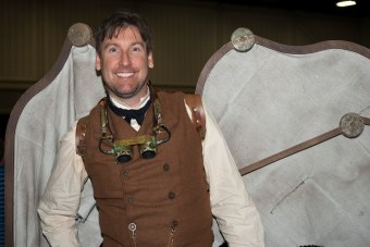 Steampunk character with wings (Ryan W McKinley)