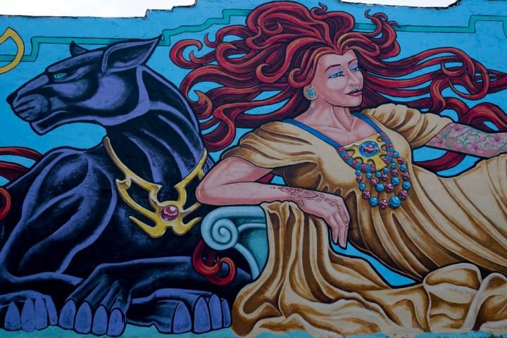 Downtown Norman - Tattoo Woman - Photo by Dennis Spielman