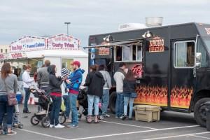 Nacho Biznez food truck at Beats and Bites from April 2016 - photo by Dennis Spielman