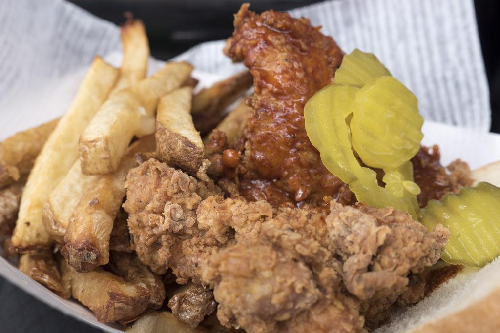 Chef Rays Street Eats's Nashville Hot Fried Chicken