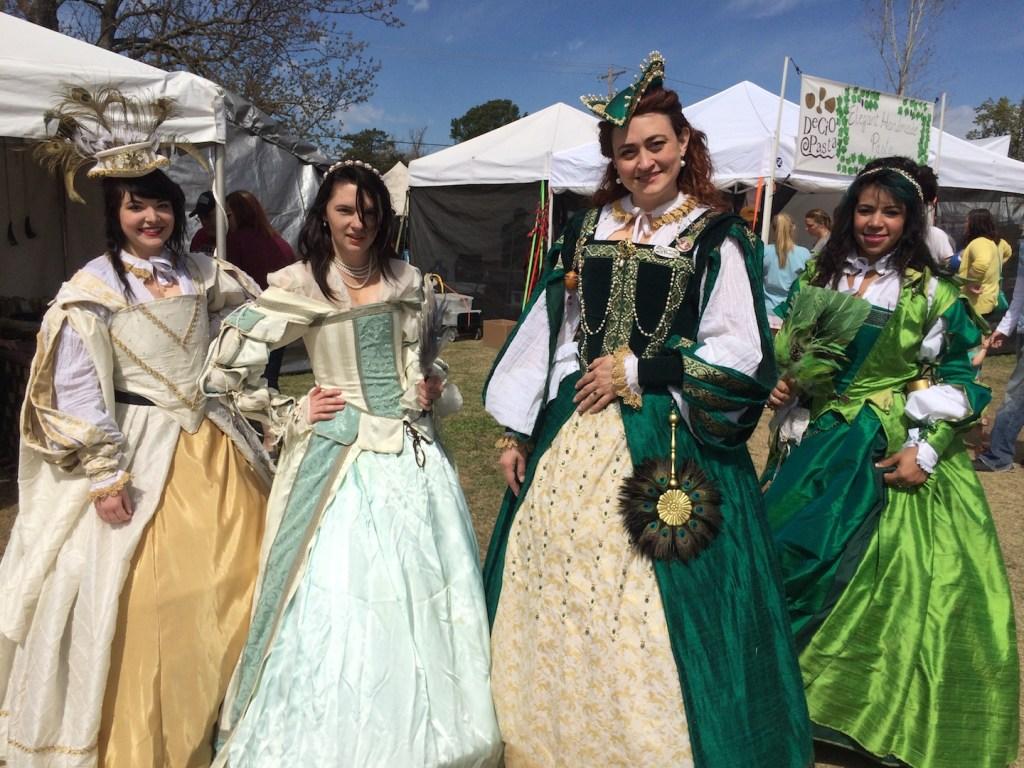 Ladies of the Medieval Fair - photo by Dennis Spielman