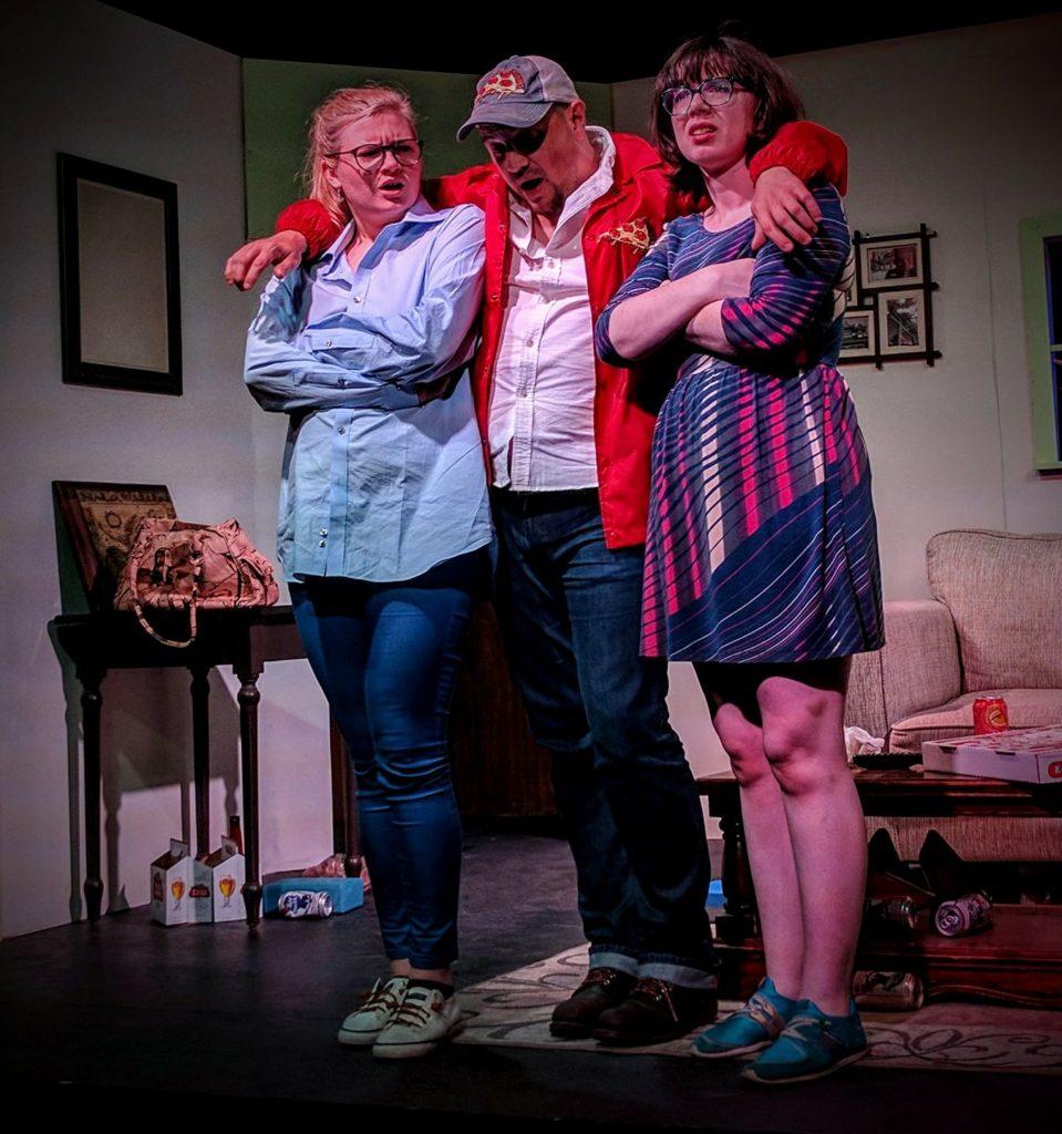 Pizza Man Starring Jessica Rosalie Bisel, Todd Clark, and Catherine Pitt.
