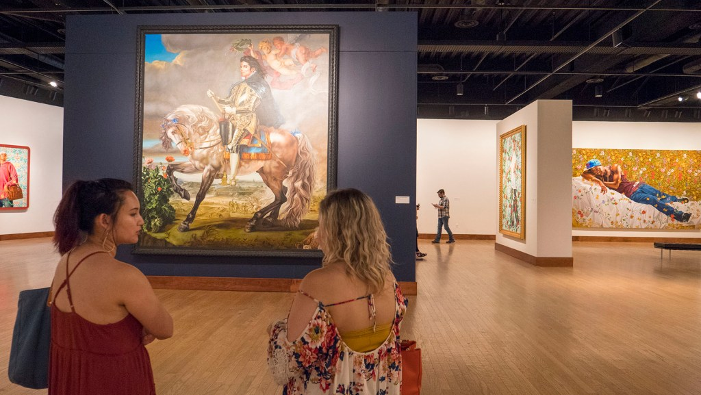 Kehinde Wiley - A New Republic at OKC MOA - photo by Dennis Spielman