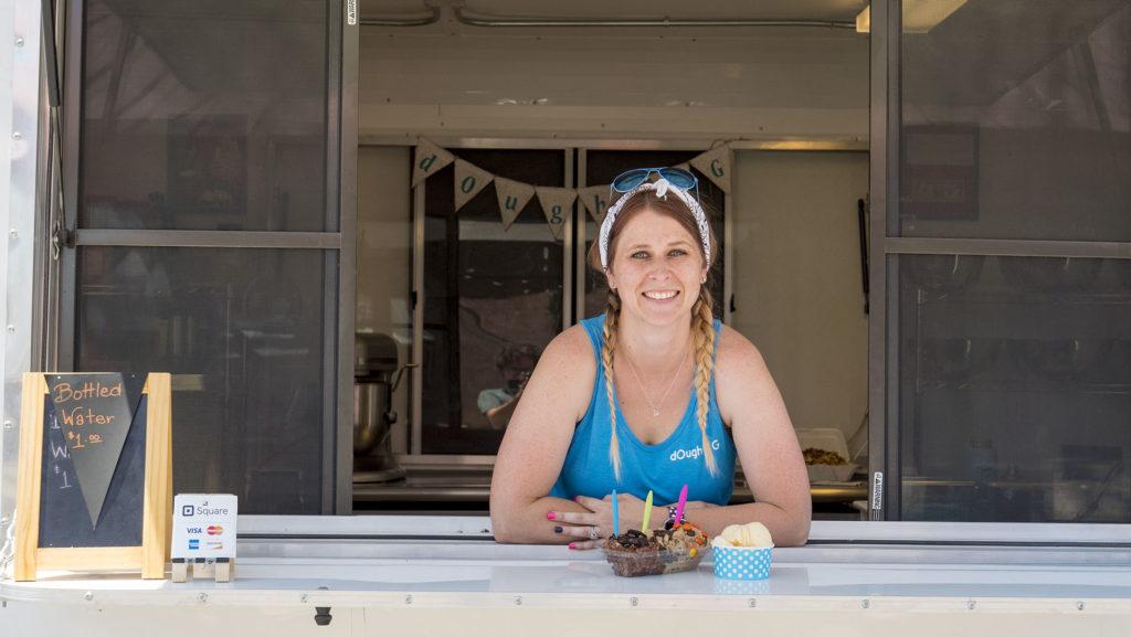 Deana Haines, owner of dOugh M G - photo by Dennis Spielman