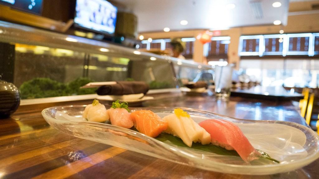 Chef's Choice at Yuzo Sushi Tapas - photo by Dennis Spielman