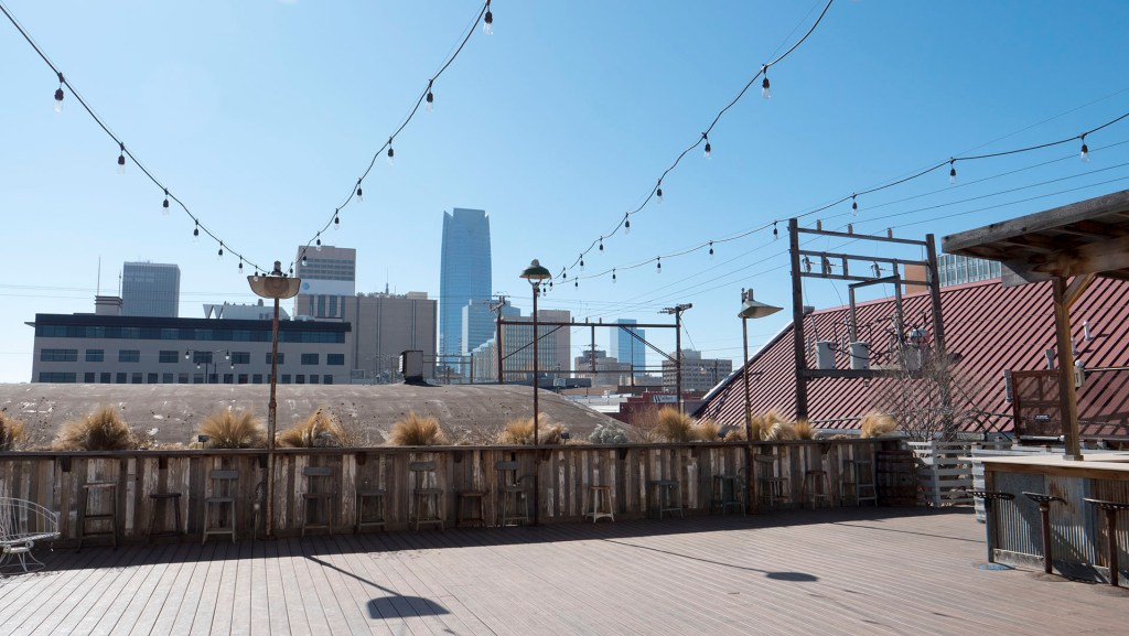 The Rooftop at Plenty in Oklahoma City - Photo by Dennis Spielman