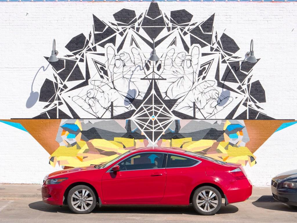 Codak Smith - Balance and Composure at Plaza Walls - photo by Dennis Spielman